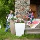 Напольное кашпо для цветов в Чите
