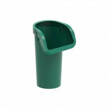 Мусоросброс секция приёмная зеленый